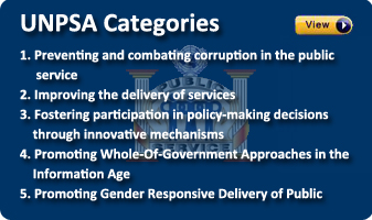 UNPSA Categories